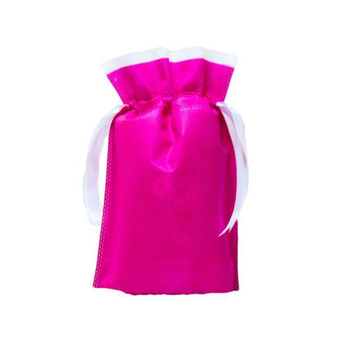 Мешочек розовый из спанбонда
