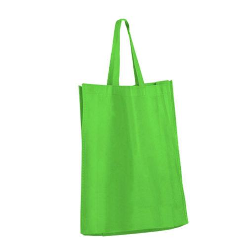 Зеленая холщовая сумка модель 2 2