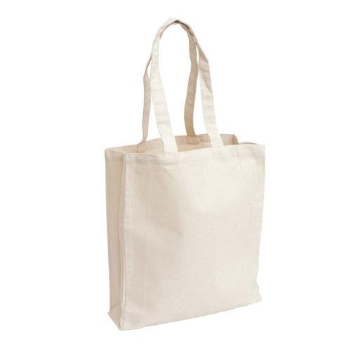 Холщовая сумка с логотипом модель 3 5