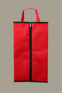 Промо сумка красная